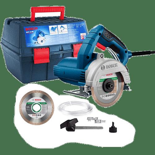 Serra Mármore a Úmido Bosch GDC 151 TITAN 1500W com Kit de refrigeração e Maleta