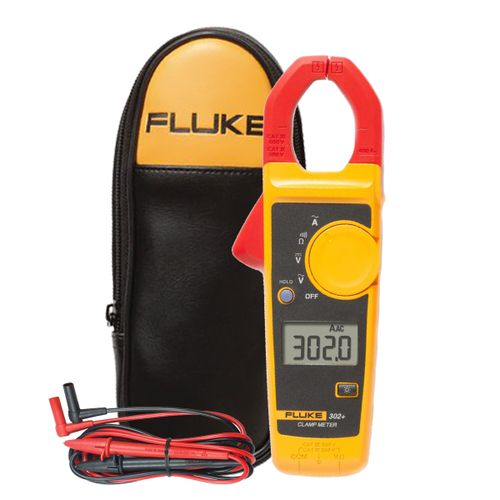 Alicate Amperímetro Fluke 302+ 400A-600V AC